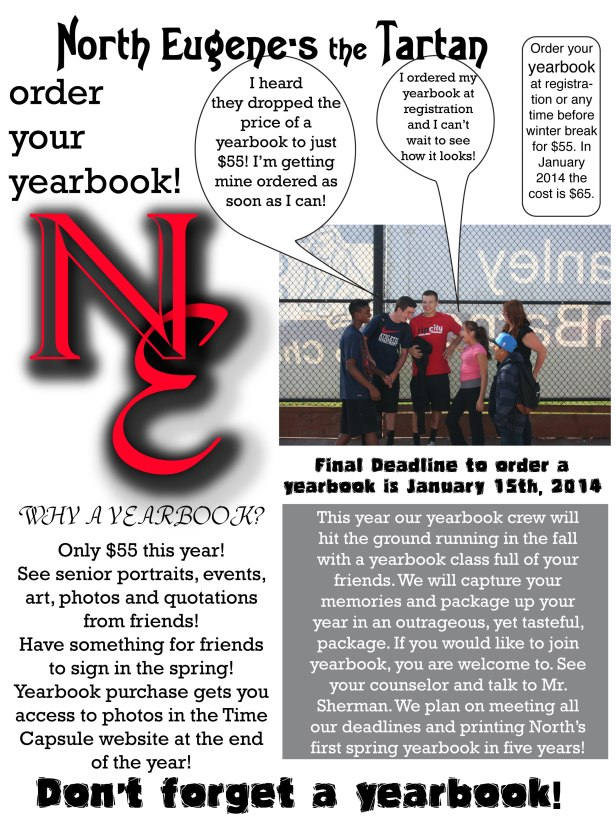 Don't forget your yearbook!