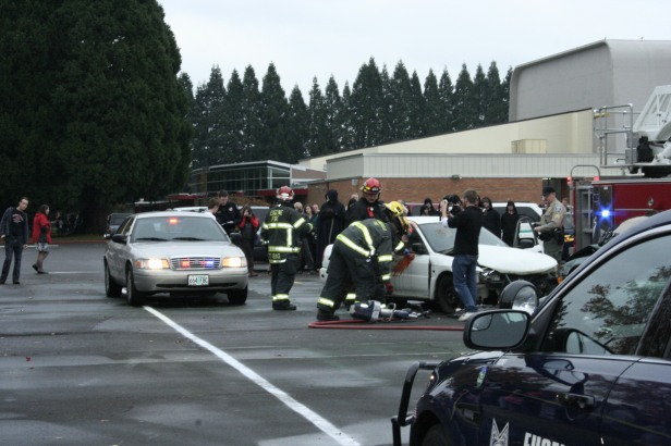 Every Fifteen Minutes Event at NEHS (Mock Accident)