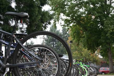 North Eugene rides bikes. Doing our part for good health and clean air.